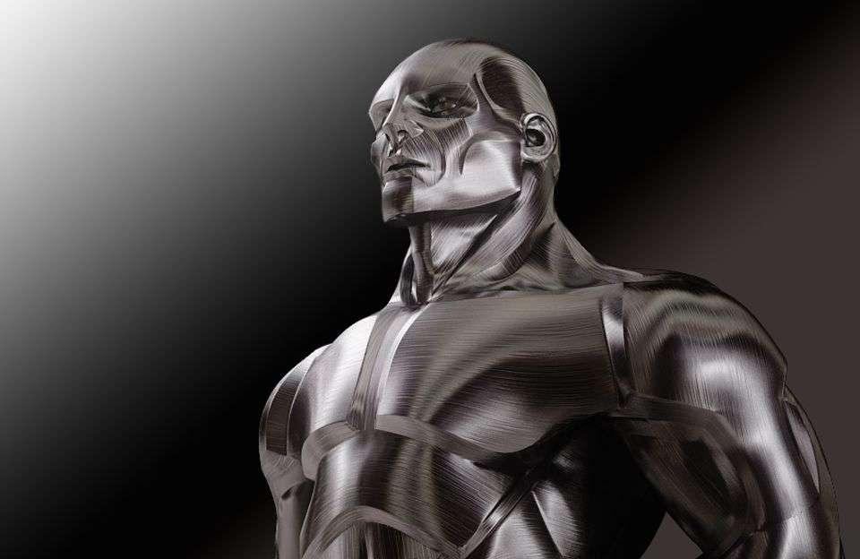 The true 'man of steel'….