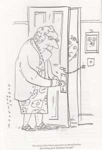 Identification cartoon