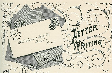 Dating guru reveals little known secret, letterwriting
