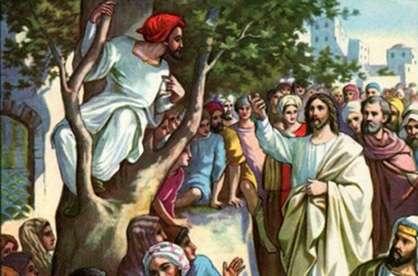 Grace picture images of Zacchaeus