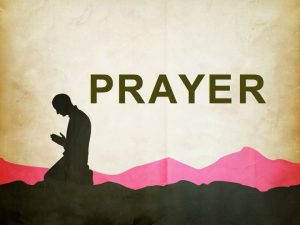 A prayer for the day