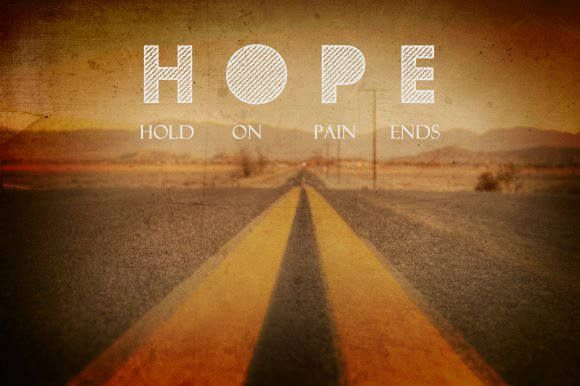 Survive Dating Be Brave HOPE-Hold-on-Pain-ends.