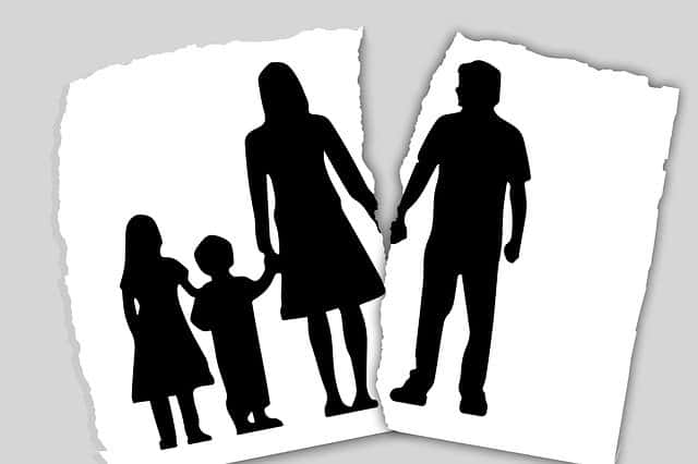 Failed Marriages Christian Couple Split
