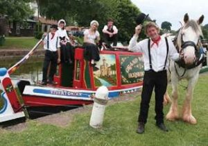 Tiverton Canal Horse Drawn Barge Trip