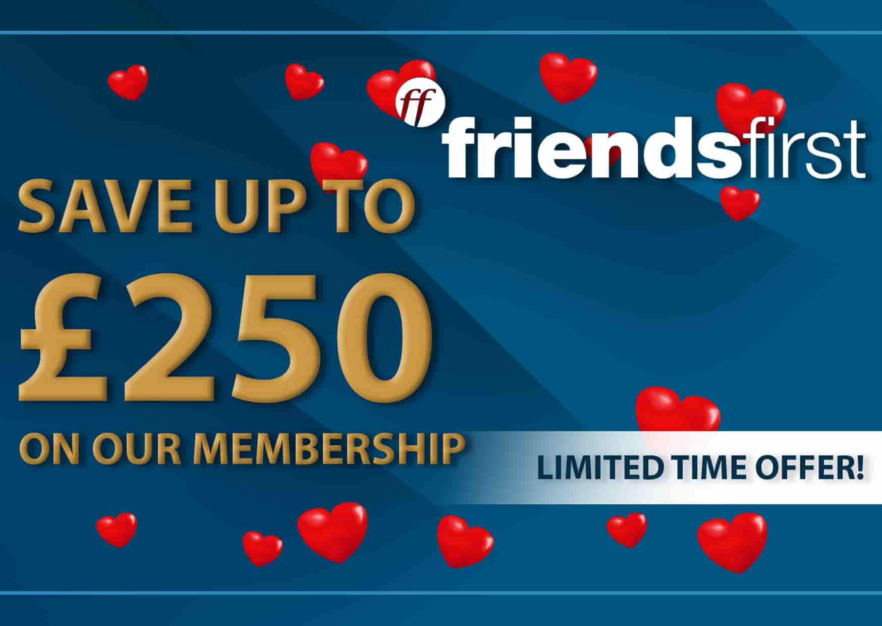 Friends1st Limited Time Offer Voucher